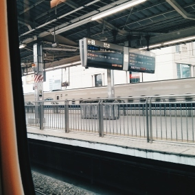 From Tokyo to Kyoto at 200 mph.