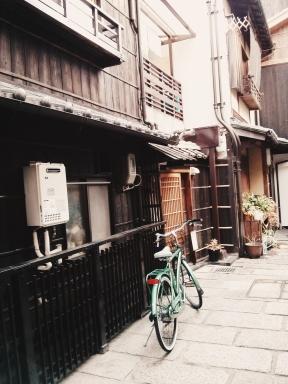 A fine example of Kyoto's characteristic machiya.